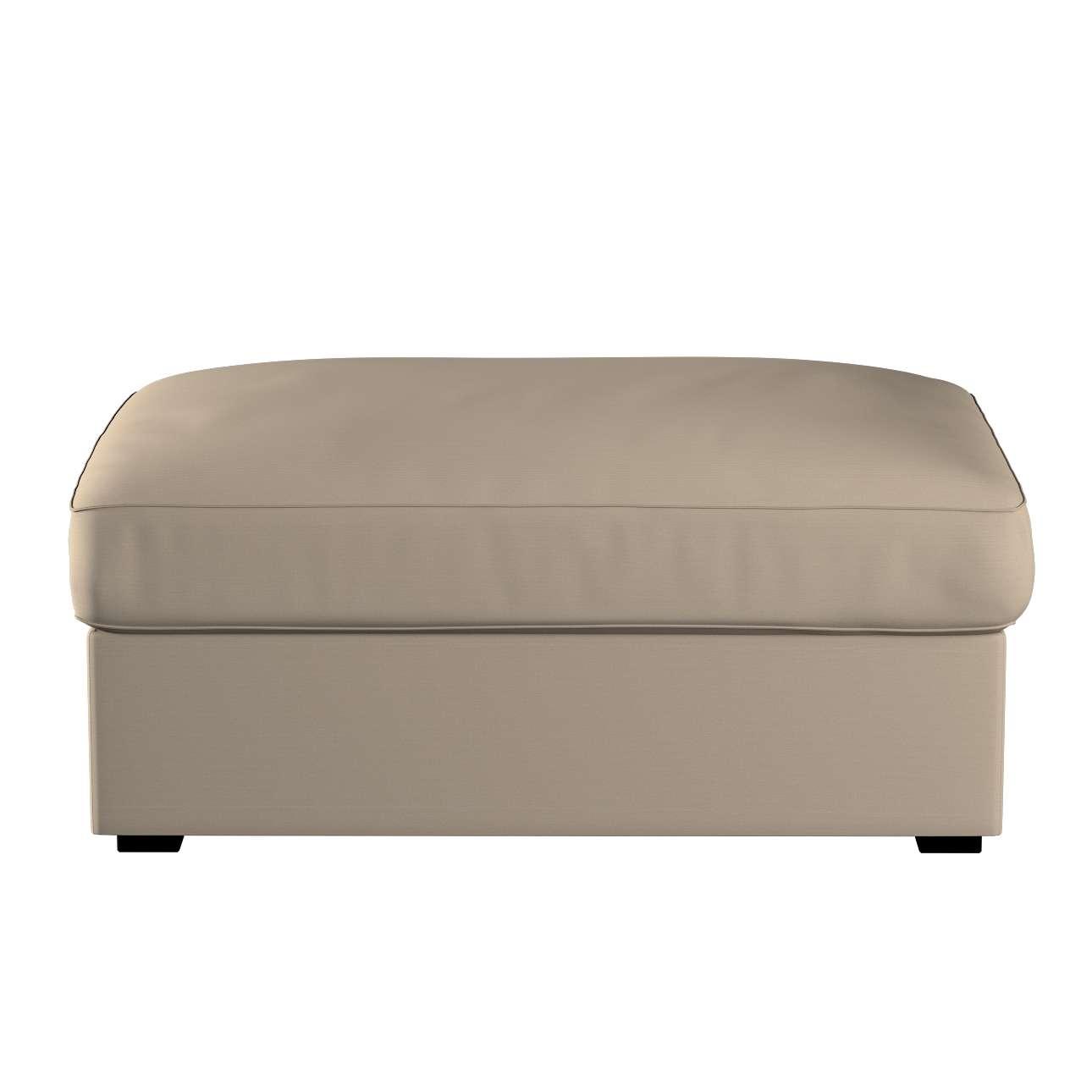 KIVIK kojų kėdutė su dėže užvalkalas kolekcijoje Cotton Panama, audinys: 702-28