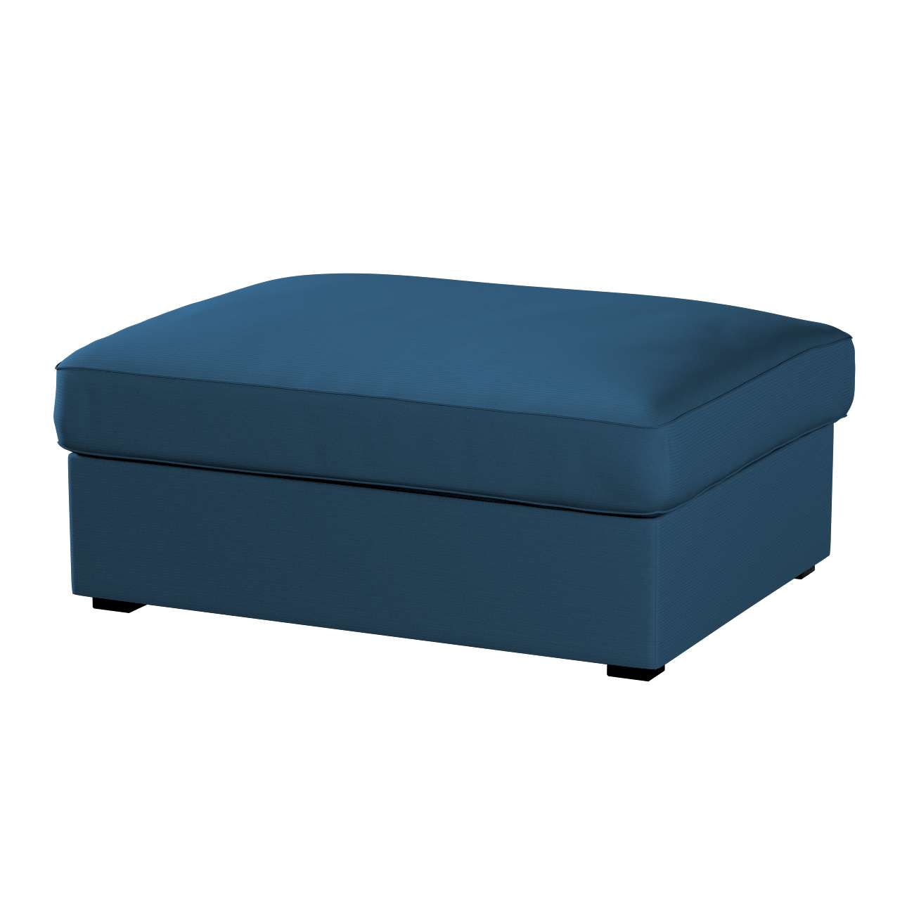 KIVIK kojų kėdutė su dėže užvalkalas Kivik footstool kolekcijoje Cotton Panama, audinys: 702-30