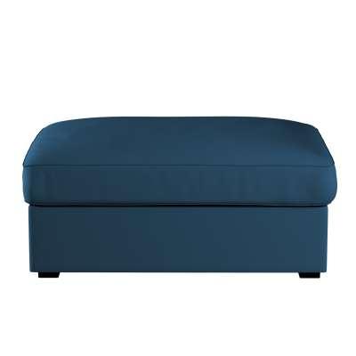 Bezug für Kivik Hocker 702-30 marinenblau  Kollektion Cotton Panama