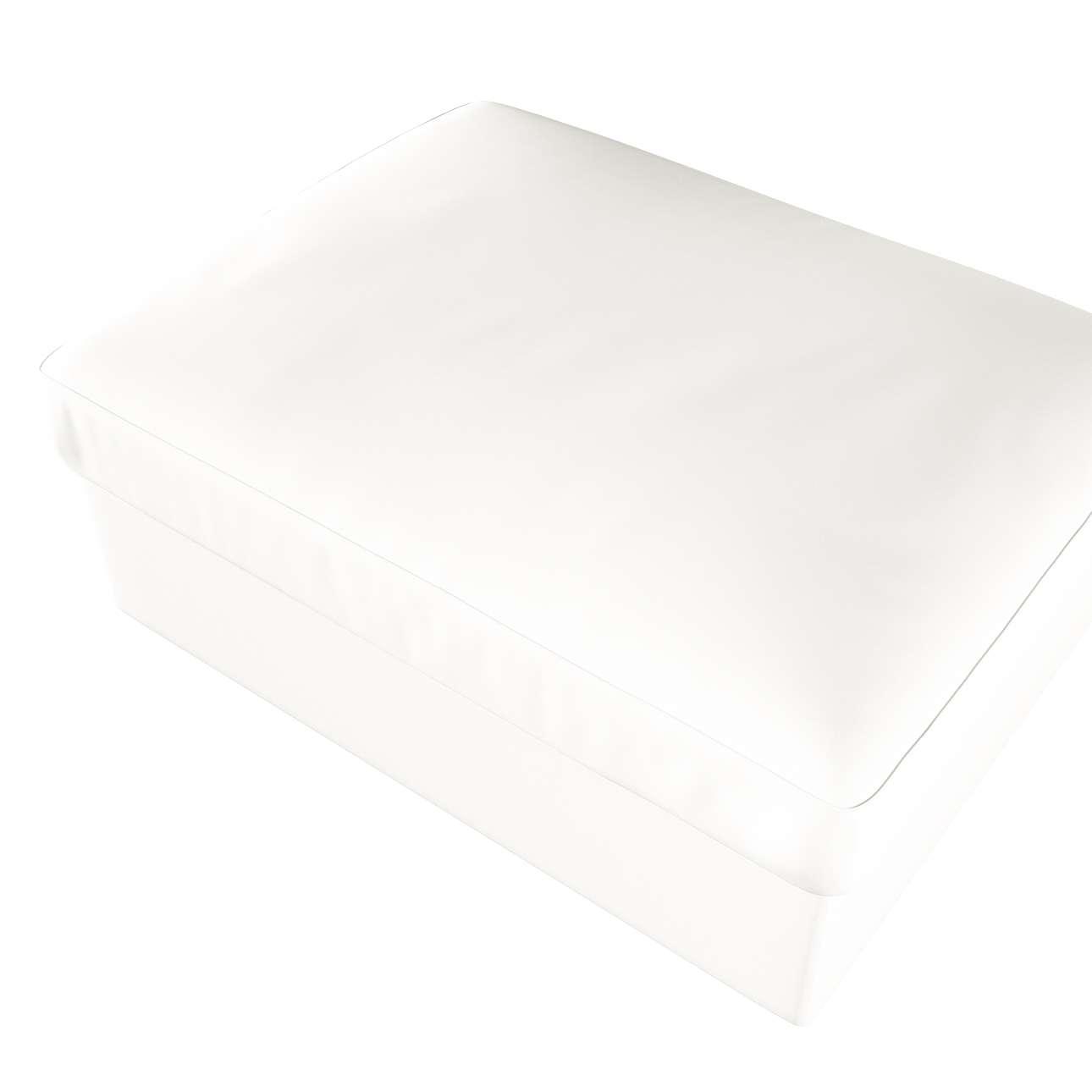 Pokrowiec na podnóżek Kivik w kolekcji Cotton Panama, tkanina: 702-34