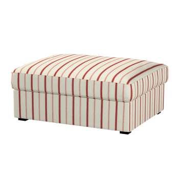 Kivik footstool cover Kivik footstool in collection Avinon, fabric: 129-15
