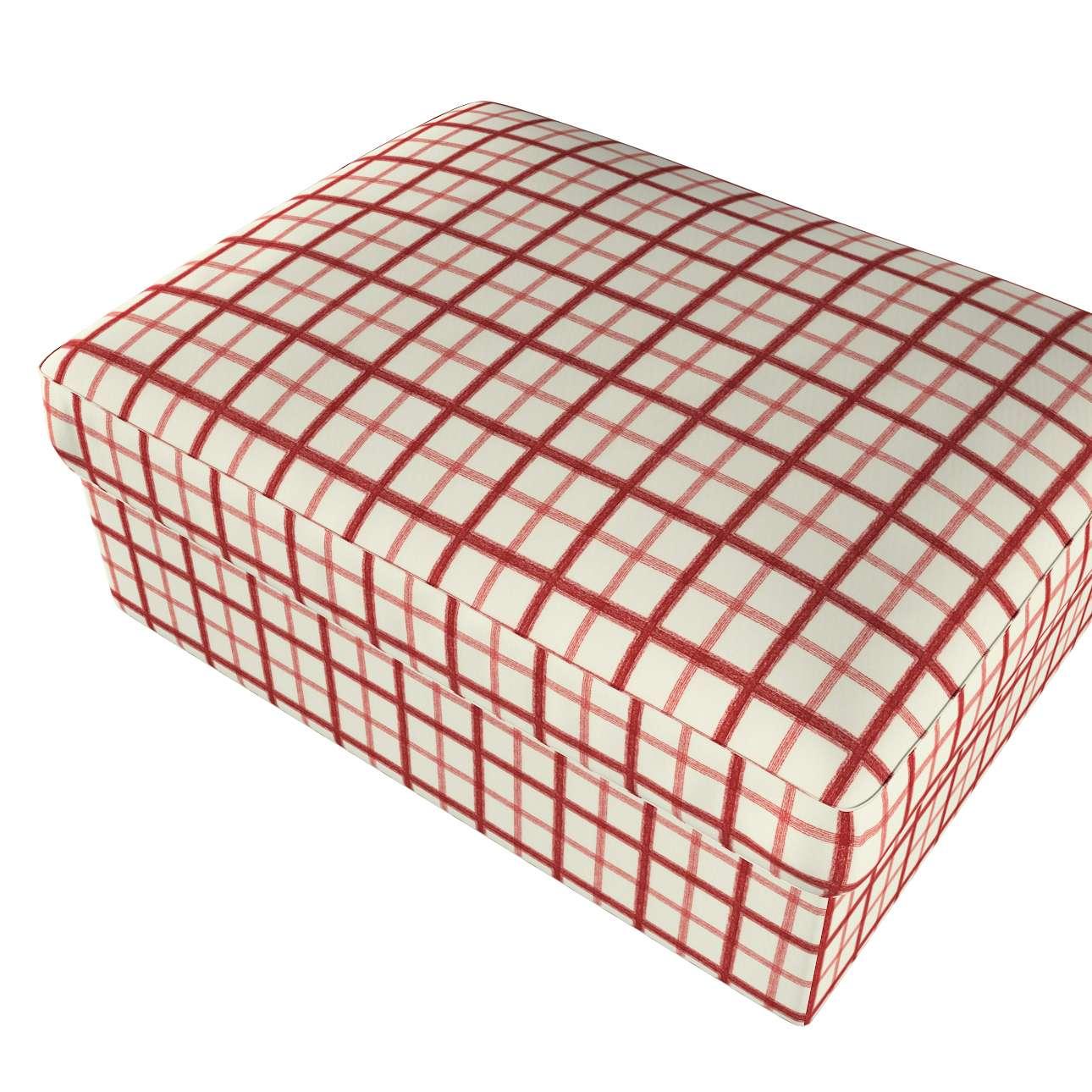 Pokrowiec na podnóżek Kivik w kolekcji Avinon, tkanina: 131-15