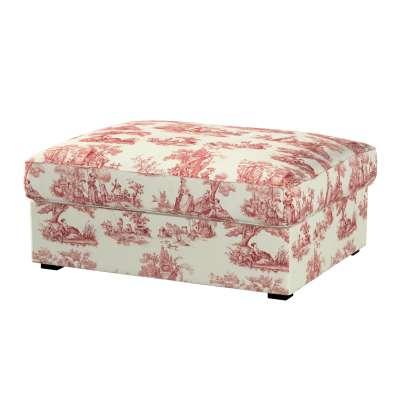 KIVIK kojų kėdutė su dėže užvalkalas kolekcijoje Avinon, audinys: 132-15