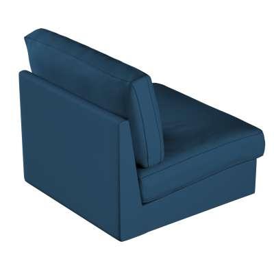 Potah na křeslo Kivik 702-30 Ocean blue mořská modrá Kolekce Cotton Panama