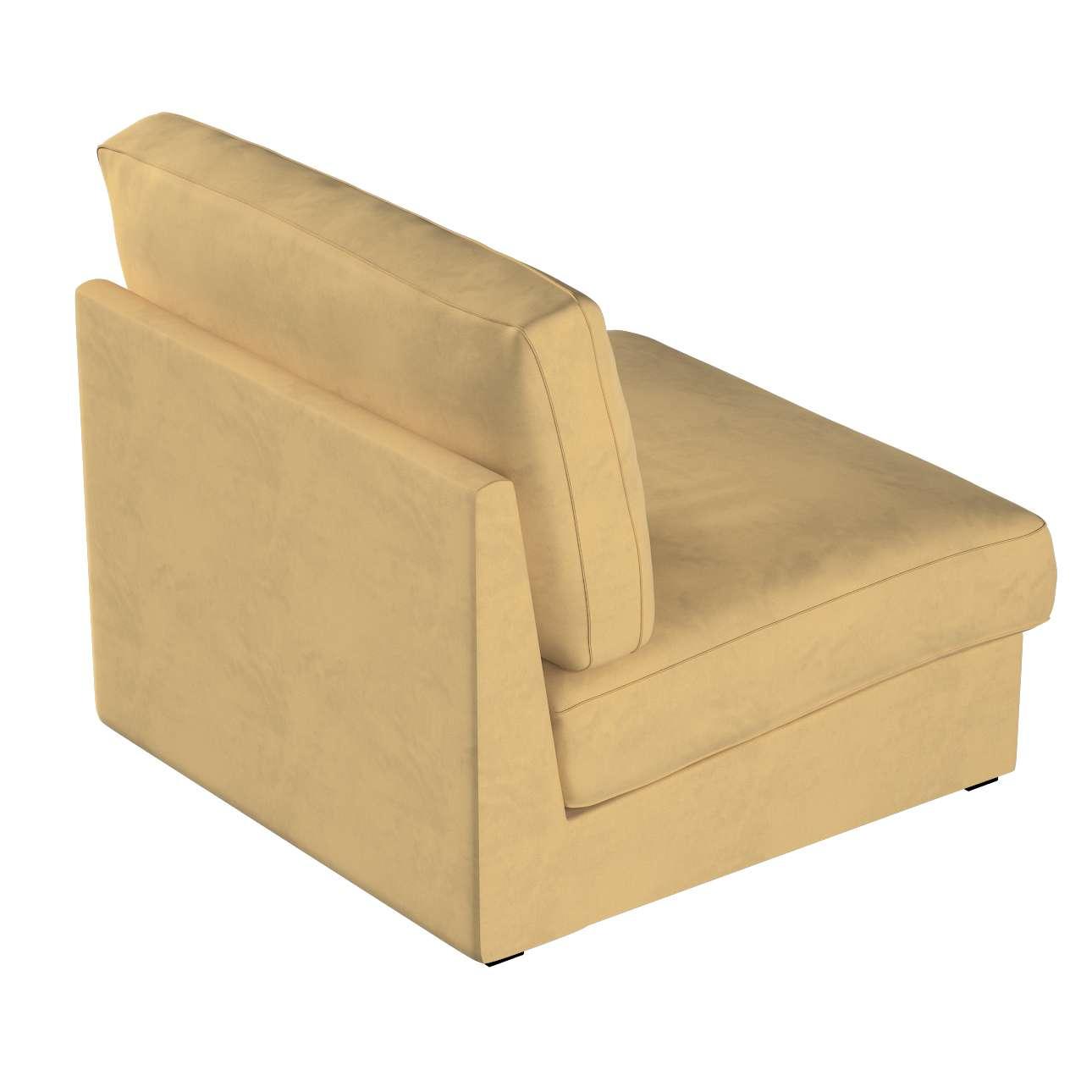Pokrowiec na fotel Kivik w kolekcji Living, tkanina: 160-93