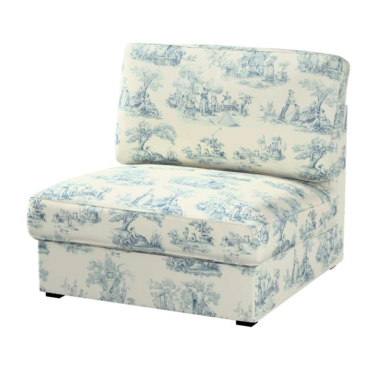 Pokrowiec na fotel Kivik Fotel Kivik w kolekcji Avinon, tkanina: 132-66