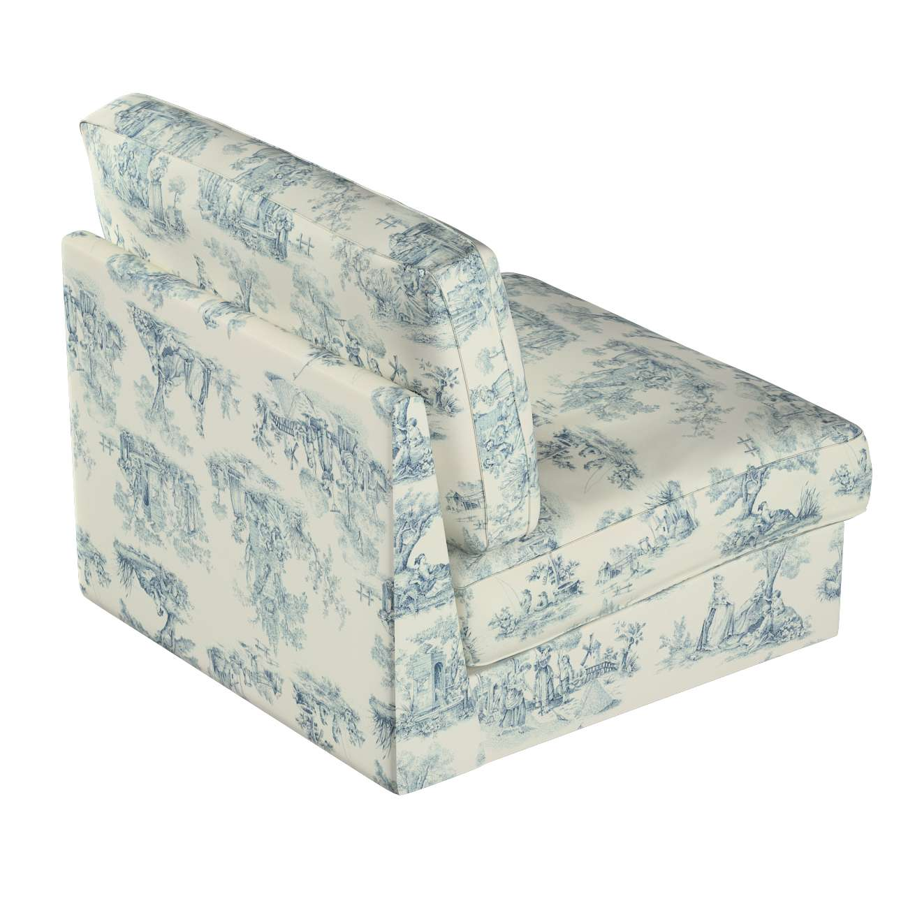 Pokrowiec na fotel Kivik w kolekcji Avinon, tkanina: 132-66