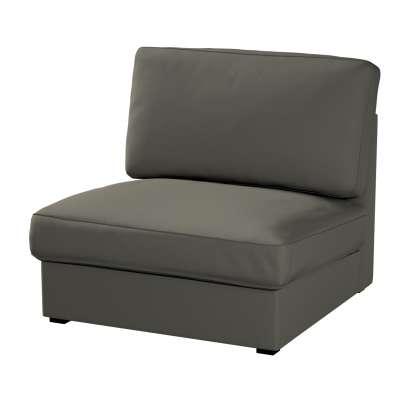 Pokrowiec na fotel Kivik 161-55 ciemny szary Kolekcja Living