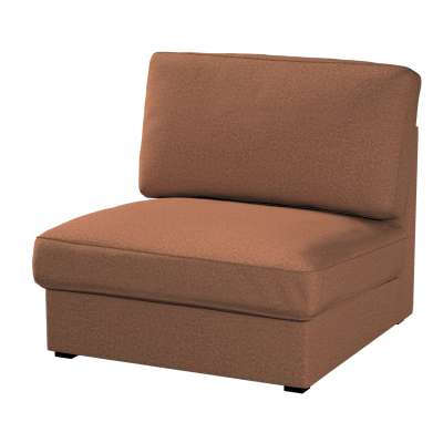 Pokrowiec na fotel Kivik 161-65 brunatny szenil Kolekcja Living
