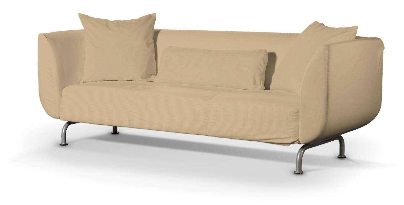 STROMSTAD trivietės sofos užvalkalas STROMSTAD trivietės sofa kolekcijoje Cotton Panama, audinys: 702-01