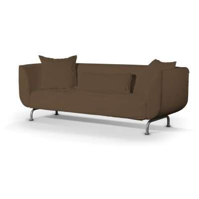 Pokrowiec na sofę Strömstad 3-osobową w kolekcji Cotton Panama, tkanina: 702-02