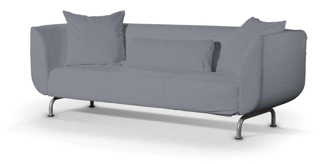 STROMSTAD trivietės sofos užvalkalas STROMSTAD trivietės sofa kolekcijoje Cotton Panama, audinys: 702-07