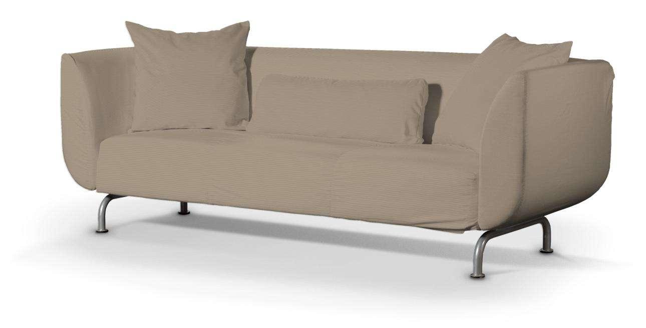 STROMSTAD trivietės sofos užvalkalas STROMSTAD trivietės sofa kolekcijoje Cotton Panama, audinys: 702-28