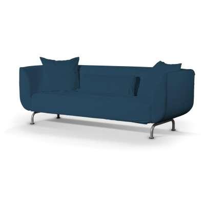 Pokrowiec na sofę Strömstad 3-osobową w kolekcji Cotton Panama, tkanina: 702-30