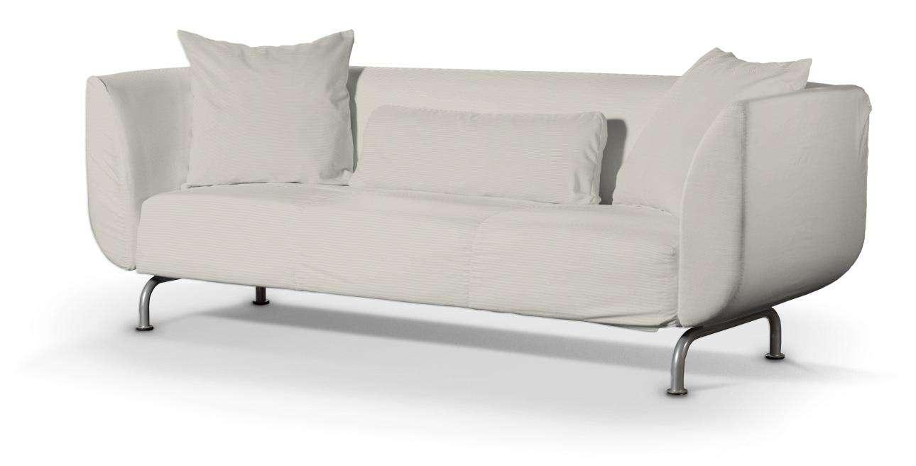 STROMSTAD trivietės sofos užvalkalas STROMSTAD trivietės sofa kolekcijoje Cotton Panama, audinys: 702-31