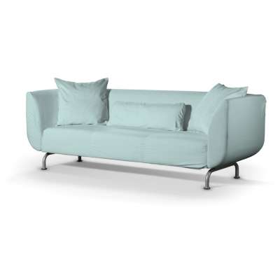 Stromstad 3-seater sofa cover 702-10 pastel blue Collection Panama Cotton