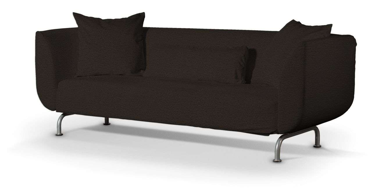 str mstad 3 sitzer sofabezug schwarz braun sofa stromstad 3 sitzer madrid haustechnik thiel. Black Bedroom Furniture Sets. Home Design Ideas