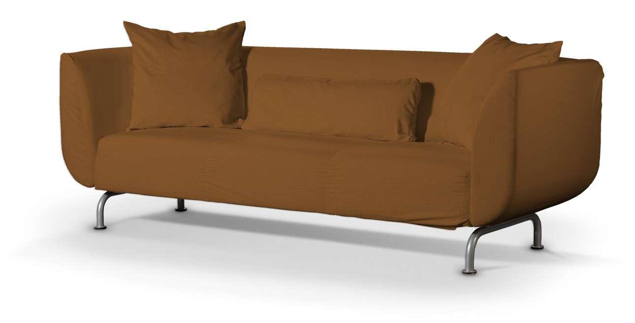 Pokrowiec na sofę Strömstad 3-osobową w kolekcji Living, tkanina: 161-28