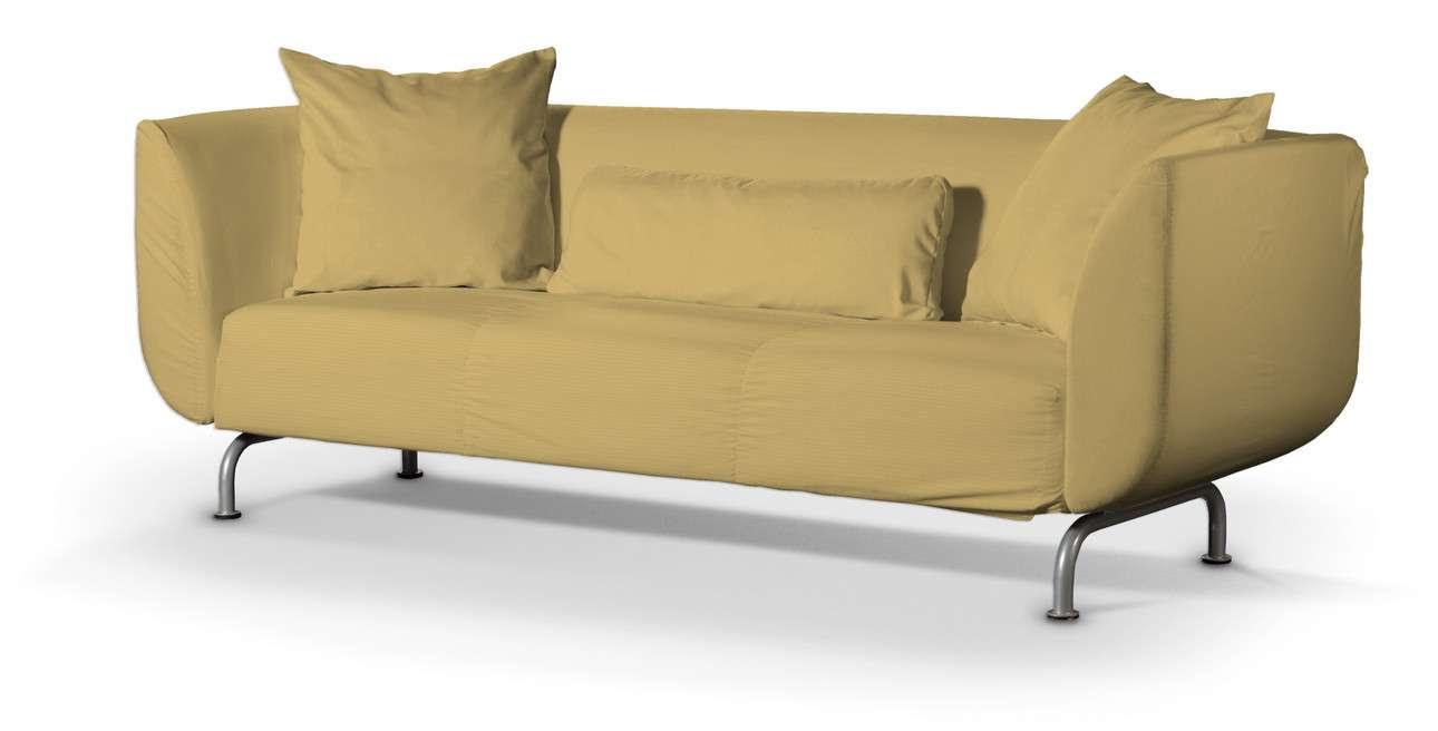 Pokrowiec na sofę Strömstad 3-osobową w kolekcji Cotton Panama, tkanina: 702-41