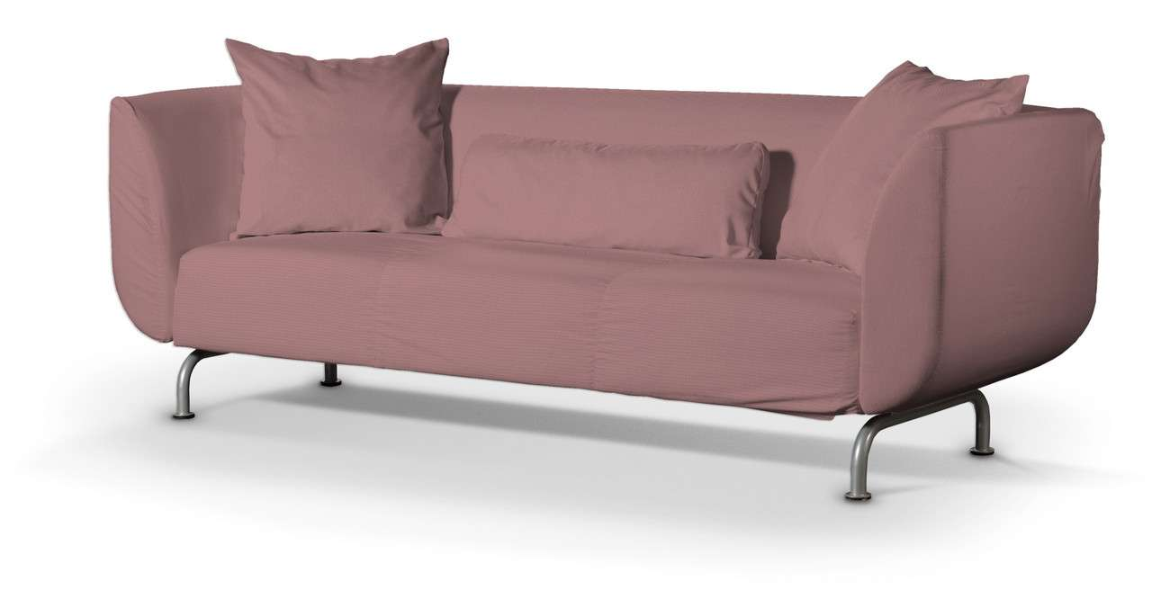 Pokrowiec na sofę Strömstad 3-osobową w kolekcji Cotton Panama, tkanina: 702-43