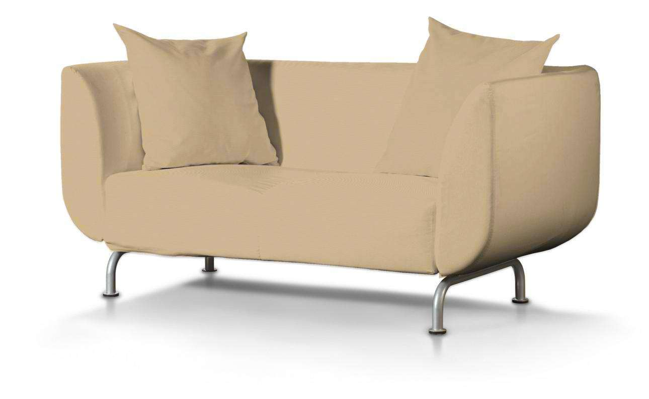 Pokrowiec na sofę Strömstad 2-osobową Sofa Stromstad 2-osobowa w kolekcji Cotton Panama, tkanina: 702-01