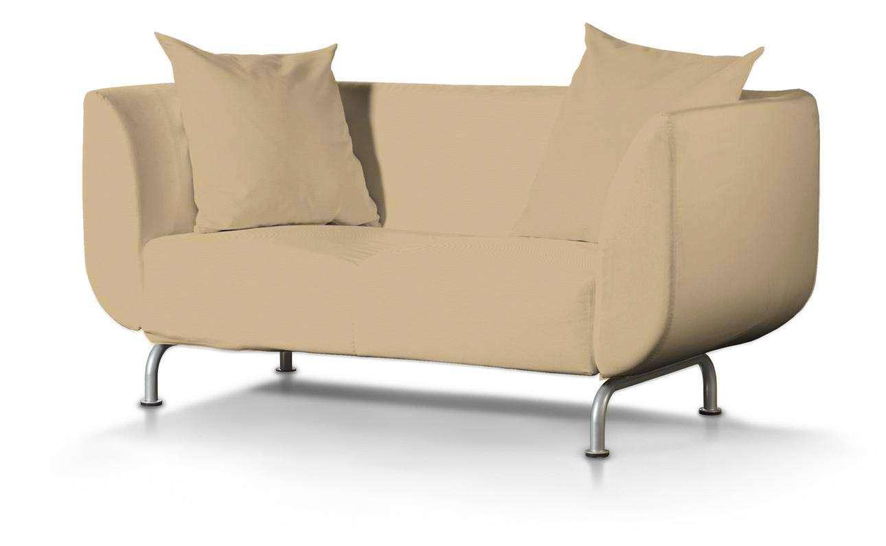 STROMSTAD dvivietės sofos užvalkalas STROMSTAD dvivietė sofa kolekcijoje Cotton Panama, audinys: 702-01