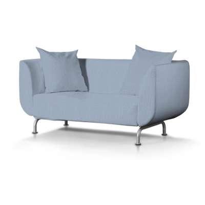 Pokrowiec na sofę Strömstad 2-osobową w kolekcji Chenille, tkanina: 702-13