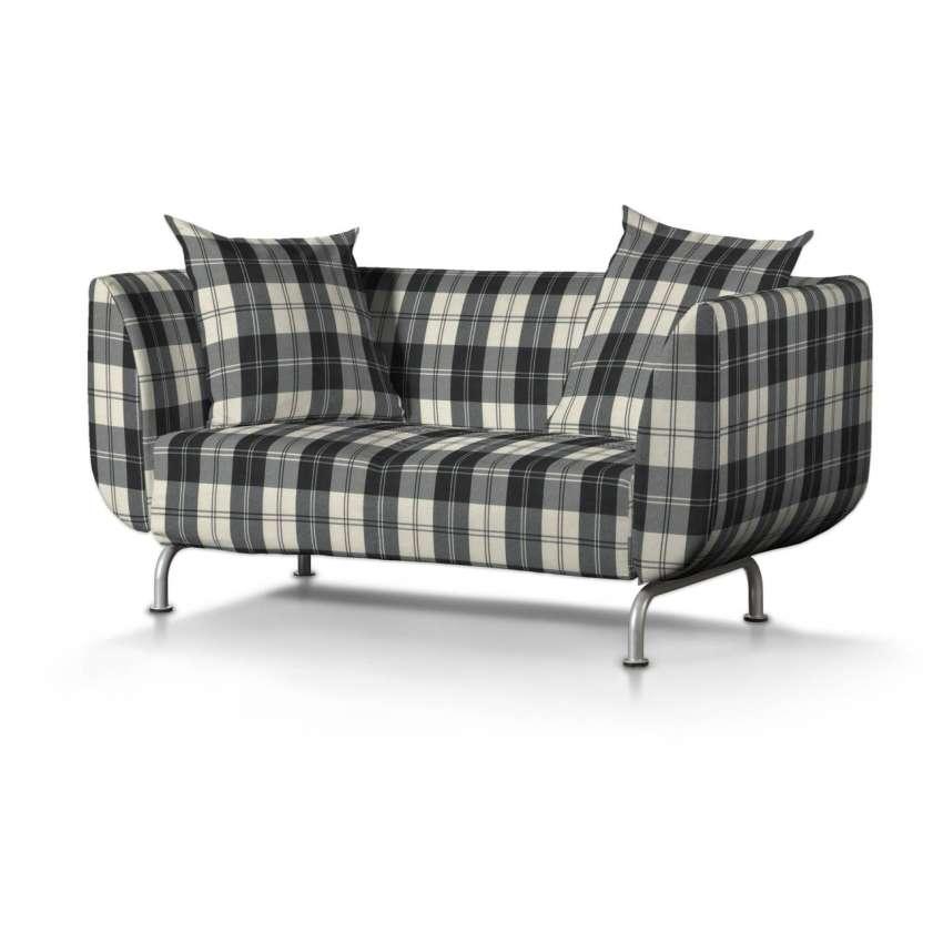 str mstad 2 sitzer sofabezug schwarz weiss sofa. Black Bedroom Furniture Sets. Home Design Ideas
