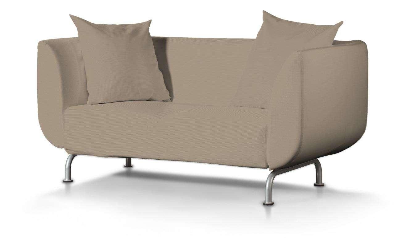STROMSTAD dvivietės sofos užvalkalas STROMSTAD dvivietė sofa kolekcijoje Cotton Panama, audinys: 702-28