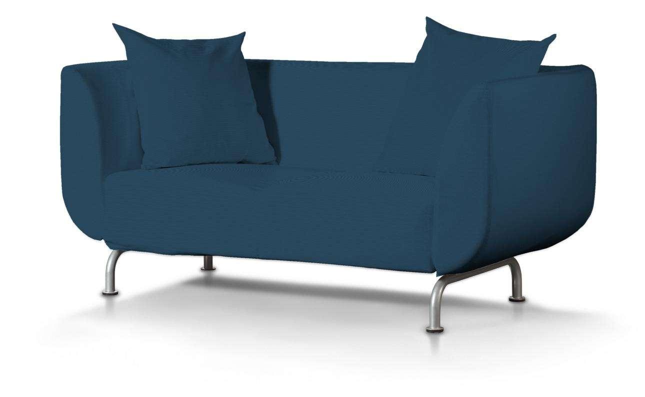 Pokrowiec na sofę Strömstad 2-osobową w kolekcji Cotton Panama, tkanina: 702-30