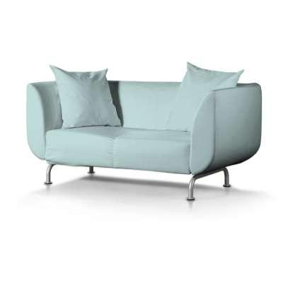 Pokrowiec na sofę Strömstad 2-osobową w kolekcji Cotton Panama, tkanina: 702-10