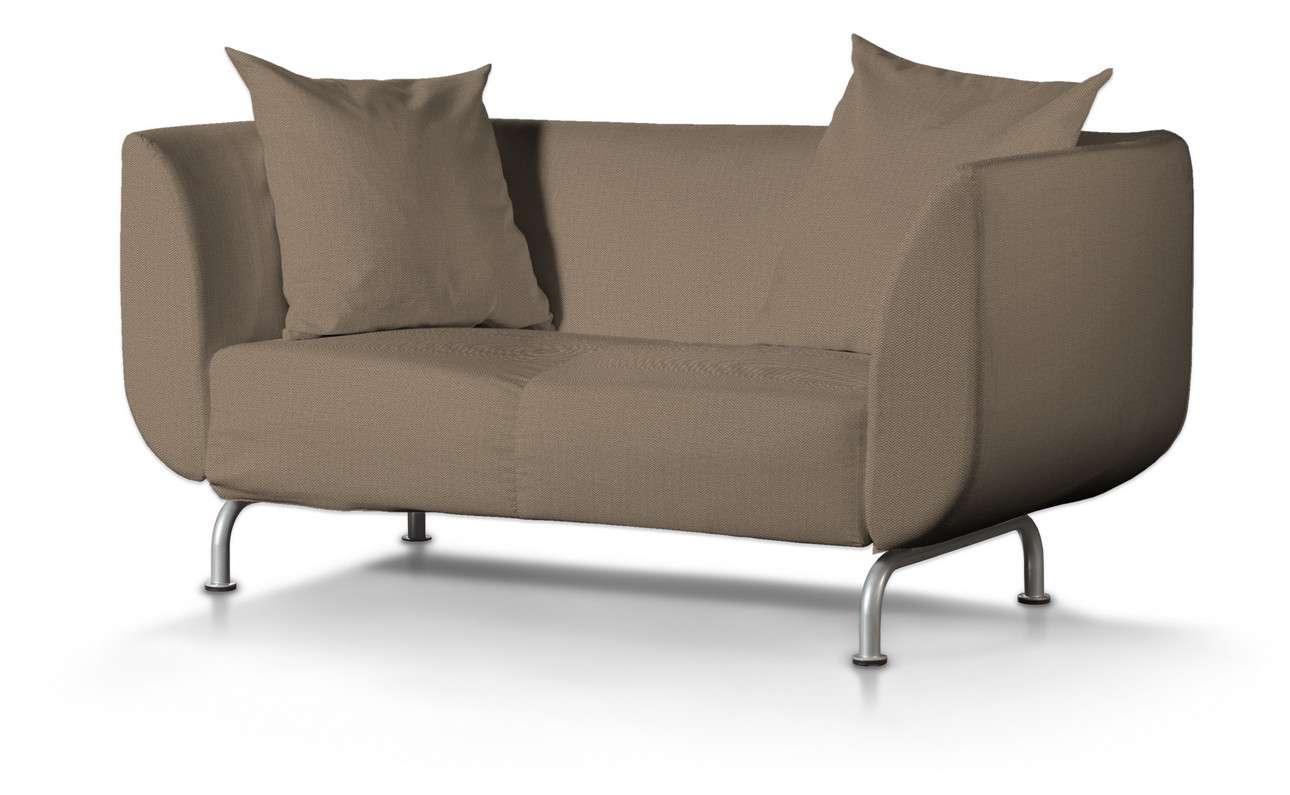 Pokrowiec na sofę Strömstad 2-osobową w kolekcji Bergen, tkanina: 161-85