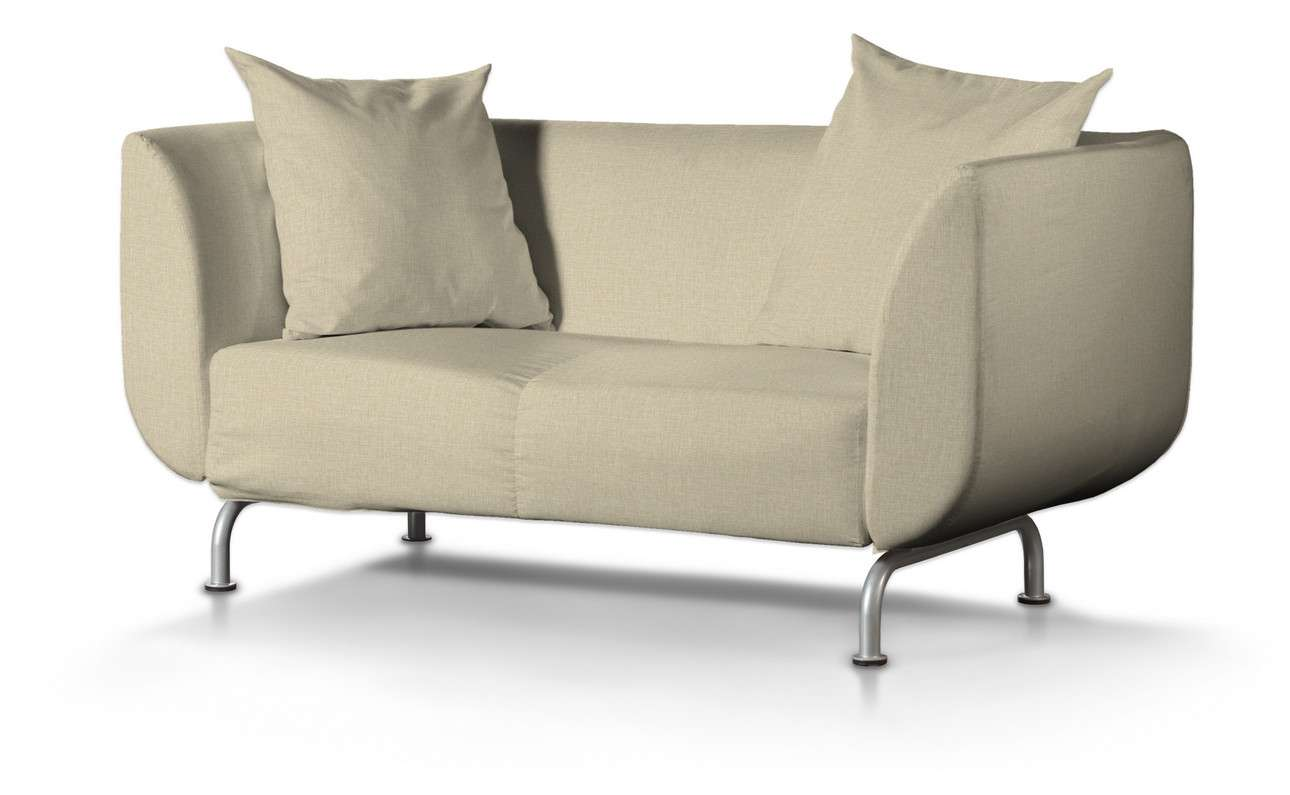 Pokrowiec na sofę Strömstad 2-osobową w kolekcji Living, tkanina: 161-45