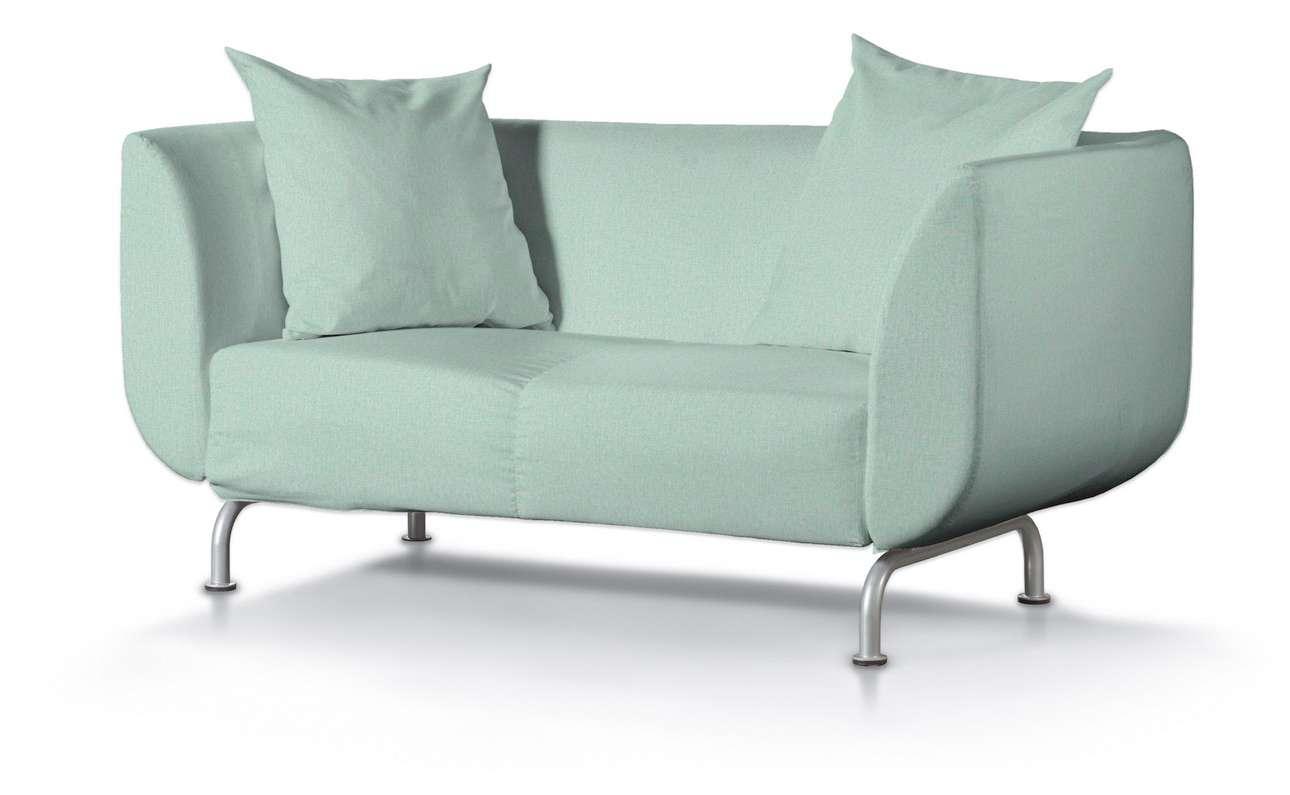 Pokrowiec na sofę Strömstad 2-osobową w kolekcji Living, tkanina: 161-61