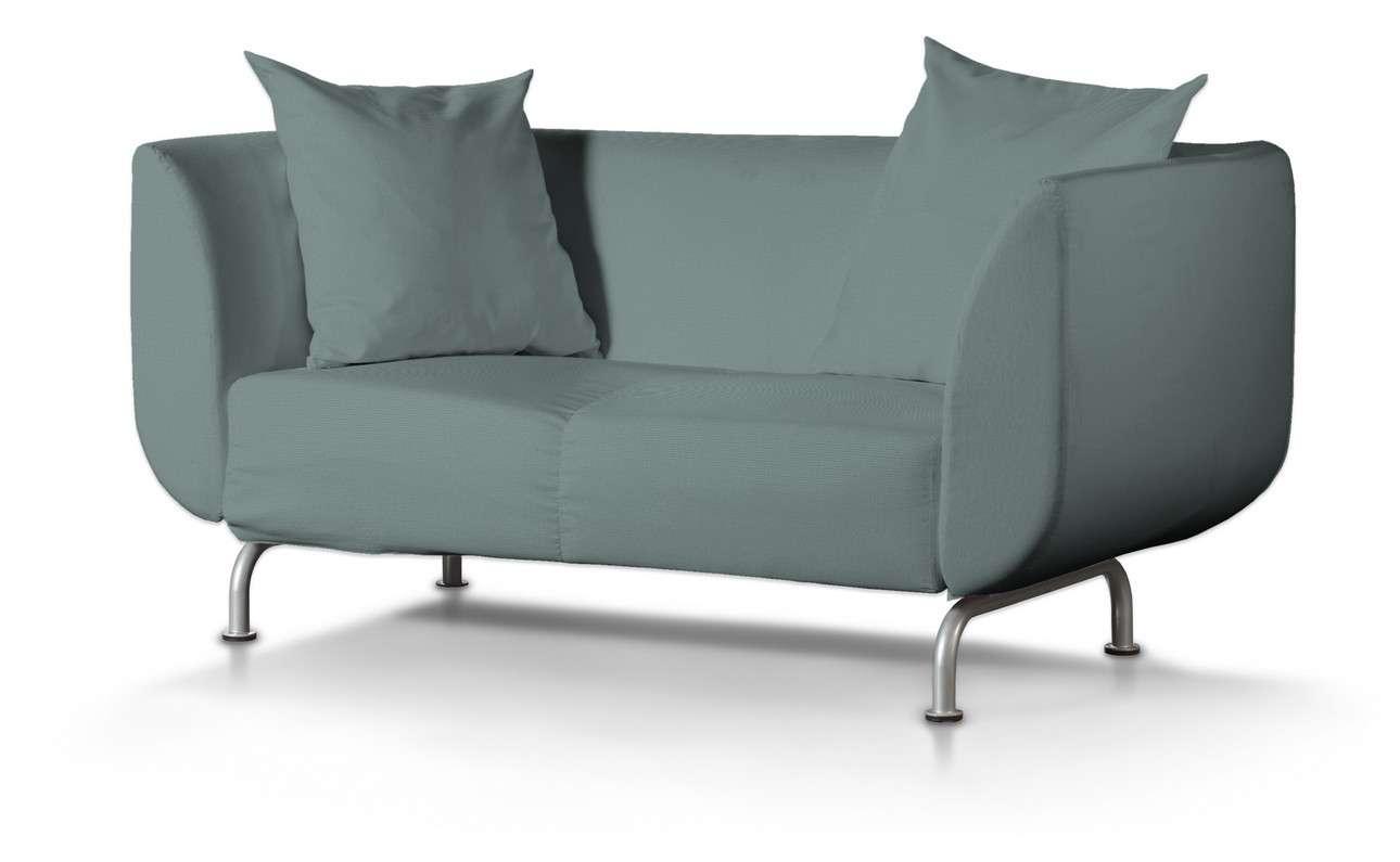 Pokrowiec na sofę Strömstad 2-osobową w kolekcji Cotton Panama, tkanina: 702-40