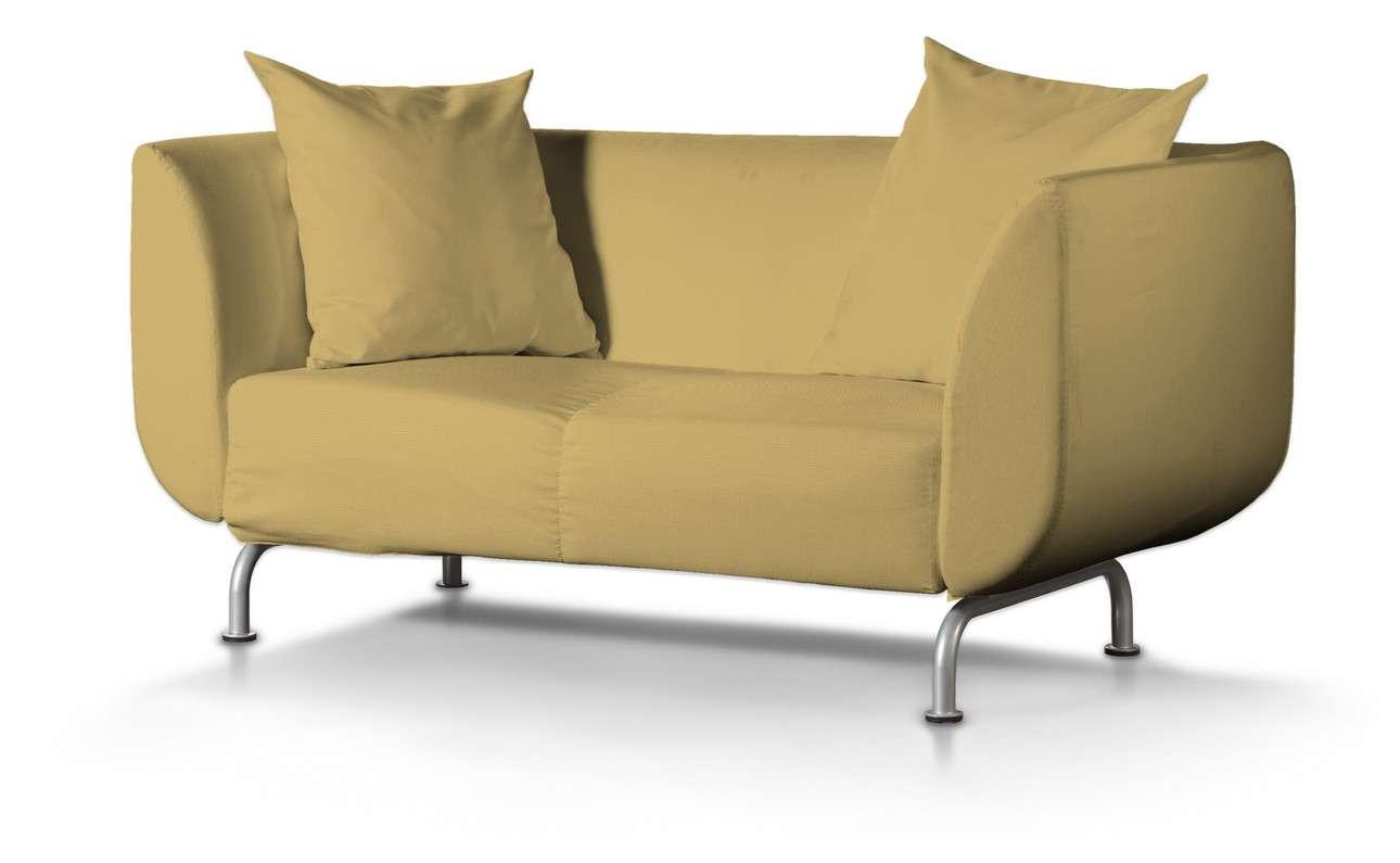 Pokrowiec na sofę Strömstad 2-osobową w kolekcji Cotton Panama, tkanina: 702-41