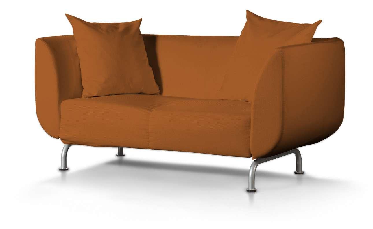 Pokrowiec na sofę Strömstad 2-osobową w kolekcji Cotton Panama, tkanina: 702-42