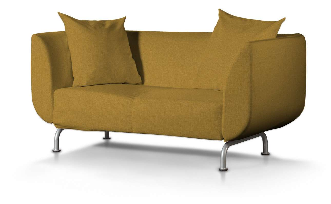 Pokrowiec na sofę Strömstad 2-osobową w kolekcji City, tkanina: 704-82