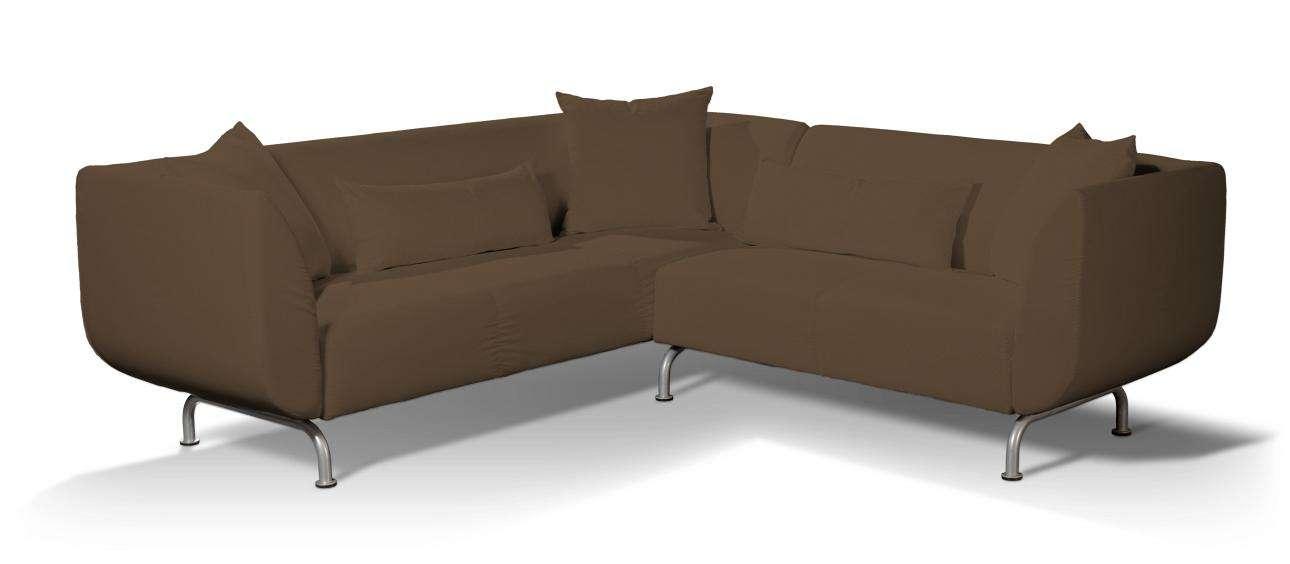 Pokrowiec na sofę narożną 3+2 Strömstad Sofa narożna 3+2 Stromstad w kolekcji Cotton Panama, tkanina: 702-02