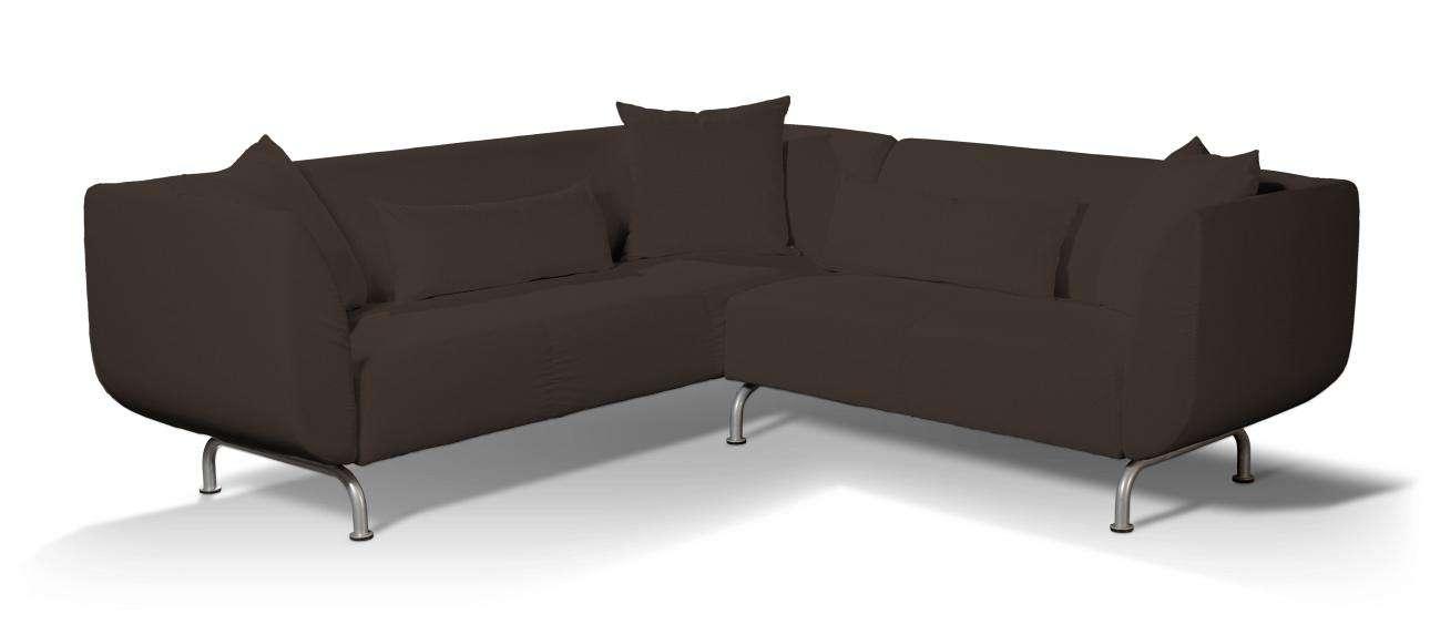 Pokrowiec na sofę narożną 3+2 Strömstad Sofa narożna 3+2 Stromstad w kolekcji Cotton Panama, tkanina: 702-03