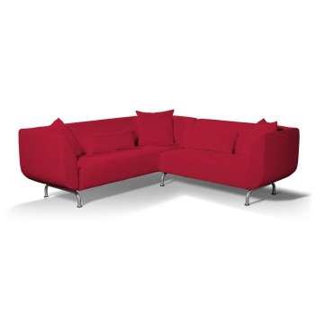 Pokrowiec na sofę narożną 3+2 Strömstad w kolekcji Cotton Panama, tkanina: 702-04