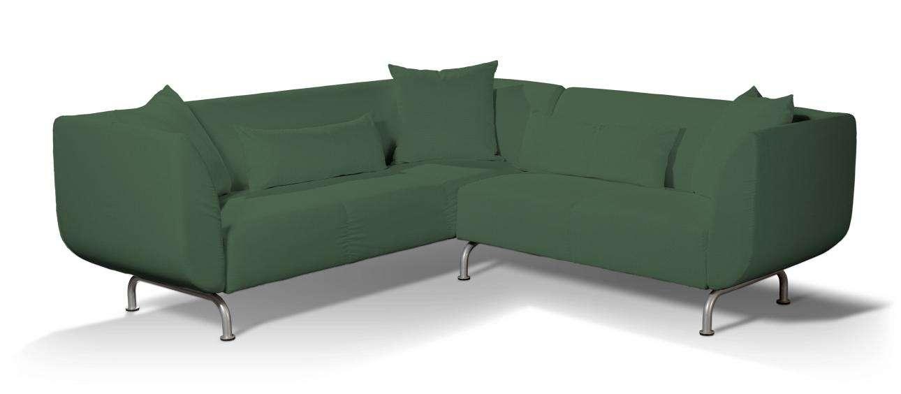Pokrowiec na sofę narożną 3+2 Strömstad Sofa narożna 3+2 Stromstad w kolekcji Cotton Panama, tkanina: 702-06