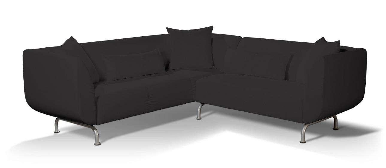 Pokrowiec na sofę narożną 3+2 Strömstad Sofa narożna 3+2 Stromstad w kolekcji Cotton Panama, tkanina: 702-08