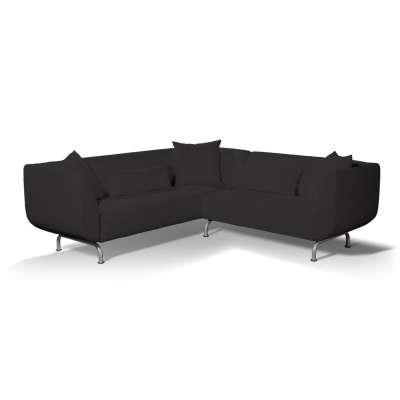 Pokrowiec na sofę narożną 3+2 Strömstad w kolekcji Cotton Panama, tkanina: 702-08