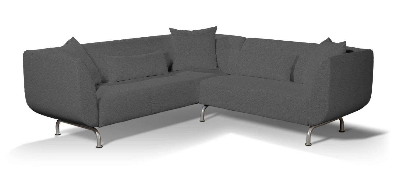 Pokrowiec na sofę narożną 3+2 Strömstad Sofa narożna 3+2 Stromstad w kolekcji Edinburgh, tkanina: 115-77