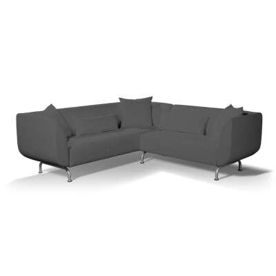 Pokrowiec na sofę narożną 3+2 Strömstad w kolekcji Edinburgh, tkanina: 115-77