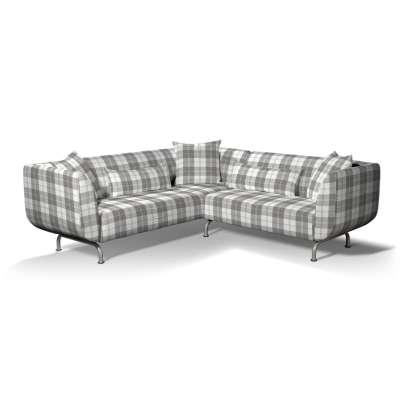 Pokrowiec na sofę narożną 3+2 Strömstad w kolekcji Edinburgh, tkanina: 115-79