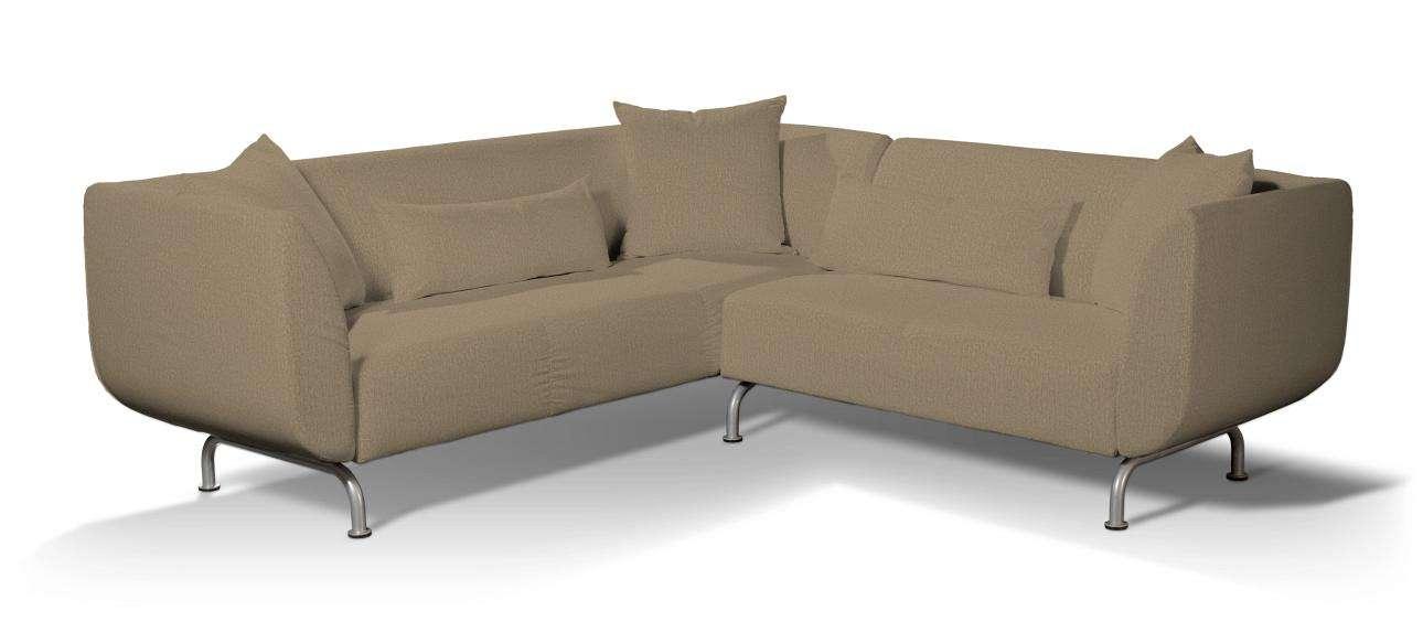 Pokrowiec na sofę narożną 3+2 Strömstad Sofa narożna 3+2 Stromstad w kolekcji Chenille, tkanina: 702-21