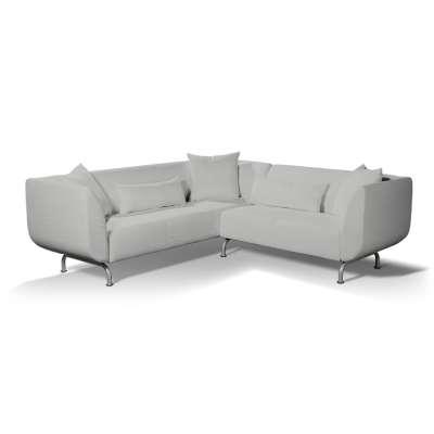 Pokrowiec na sofę narożną 3+2 Strömstad w kolekcji Chenille, tkanina: 702-23