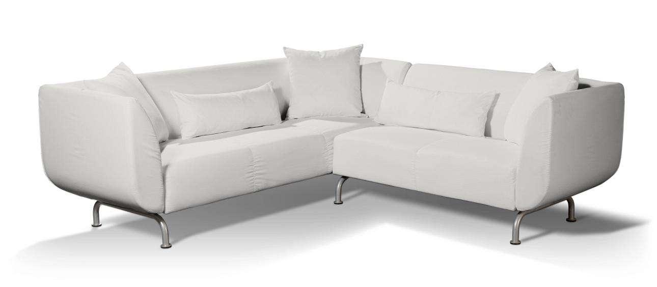 Pokrowiec na sofę narożną 3+2 Strömstad w kolekcji Etna , tkanina: 705-01
